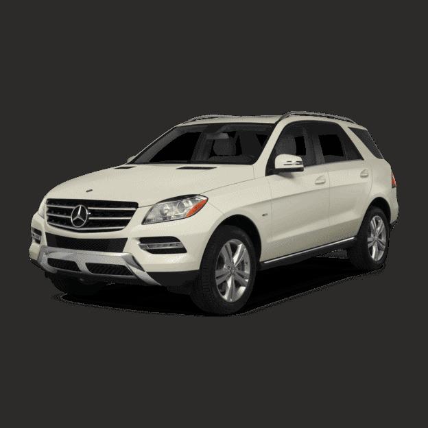 Выкуп утилизированных Mercedes M-klasse